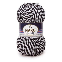 Nako Spaghetti Thick Chunky Yarn - Multi Color 3086