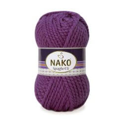 Nako Spaghetti Yarn - Purple 3853