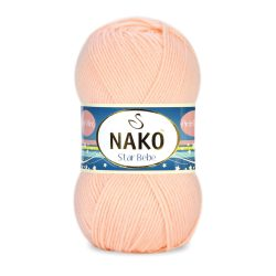 Nako Star Bebe Yarn - Peach 4079