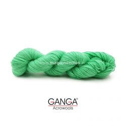 Ganga Cuddly 4 ply Acrylic Yarn - Green 105