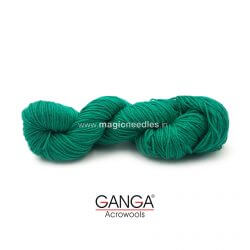 Ganga Cuddly 4 ply Acrylic Yarn - Green 80