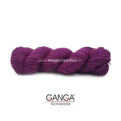 Ganga Cuddly 4 ply Acrylic Yarn - Purple 70