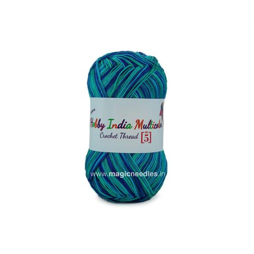 Ganga Hobby India Crochet Thread - Multi Color 38